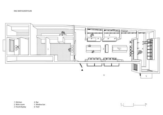 RAC_BAR RAC Coffee & Bar / MASS DESIGN Architecture
