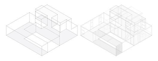 AXONOM PRO.CRE.AR PERROUD House / AToT - Arquitectos Todo Terreno Architecture
