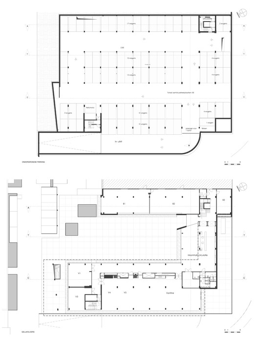 Underground and Ground Floor Plan