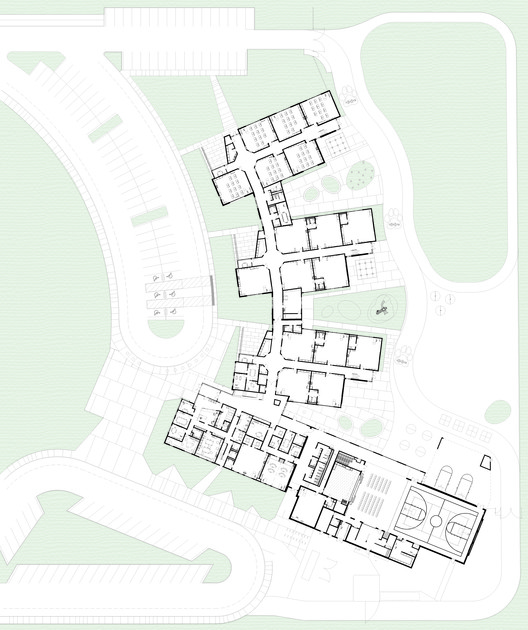 LWES_Arch_fp1__Recovered_ Lake Wilderness Elementary School / TCF Architecture Architecture