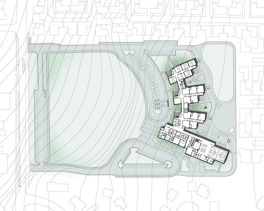 LWES_Arch_site Lake Wilderness Elementary School / TCF Architecture Architecture