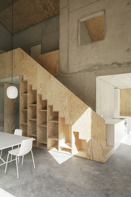 ANA_view_stairway ANA / Christian Groß architecture Architecture