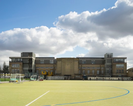 Streatham and Clapham High School / Cottrell and Vermeulen Architecture. Image © Anthony Coleman