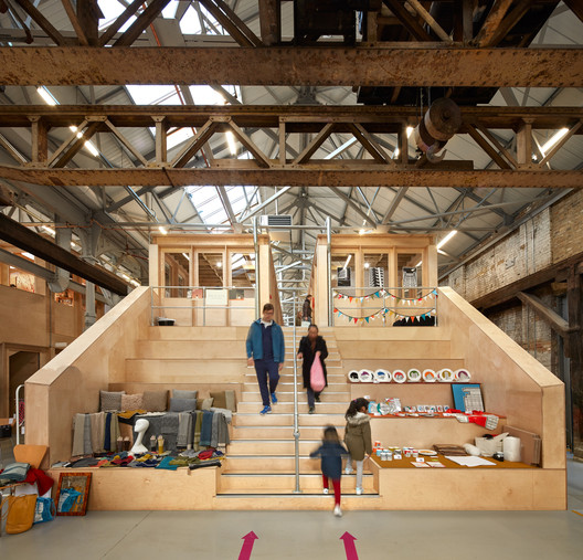 The Forge / Emrys Architects. Image © Alan Williams