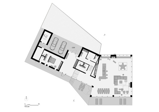 SVA_Deer_Plan Holiday House - Deer / Sintija Vaivade_Arhitekte Architecture