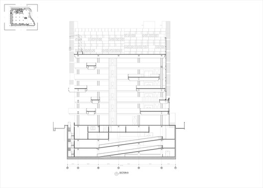 SECTION_B Andalan Automotive Gallery and Office / Studio SA_e + Sindhu Hadiprana Design Consultant Architecture