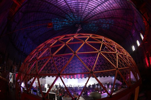 -4eVUxjb10g This Wooden Geodesic Dome Contains the World's Largest Planetarium Architecture