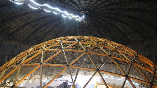 QMAMdkUDMlY This Wooden Geodesic Dome Contains the World's Largest Planetarium Architecture