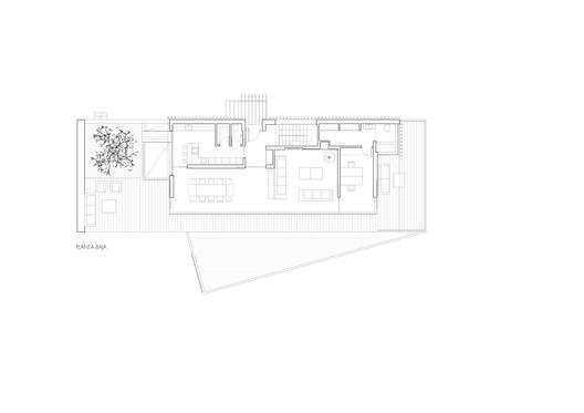 PLANTA_PRIMERA Holm Oak's House / Aranguren&Gallegos Arquitectos Architecture