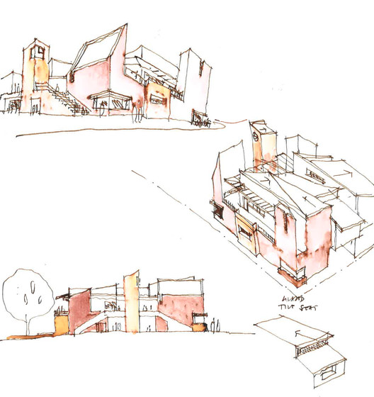 HPS_Combined_Sketches_02 Highgate Primary School / iredale pedersen hook architects Architecture