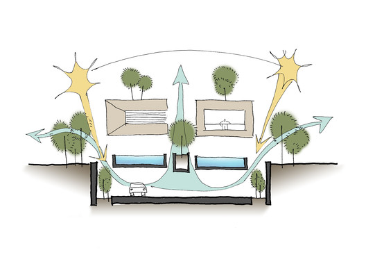 Concept_Sketch Forever House / Wallflower Architecture + Design Architecture