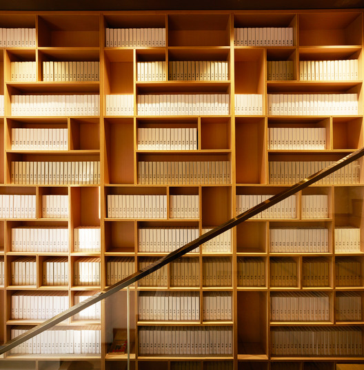 Bookshelves. Image © Kuo-min Lee