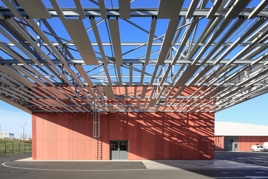 Centre_Technique_Blagnac_PaulKozlowski-(5) Technical Center of Blagnac / NBJ architectes Architecture