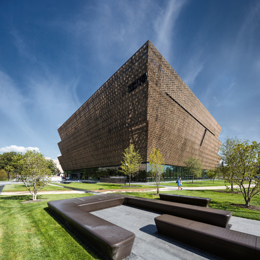 Smithsonian National Museum of African American History and Culture by Adjaye Associates. Image © Darren Bradley