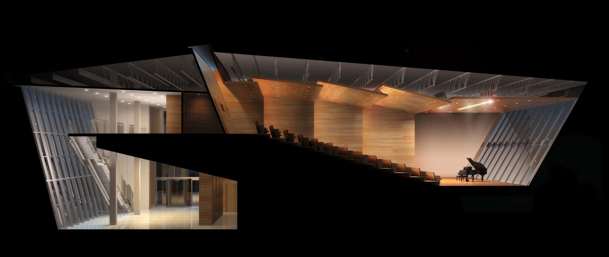Gallery Of Devon Auditorium Pickard Chilton 16