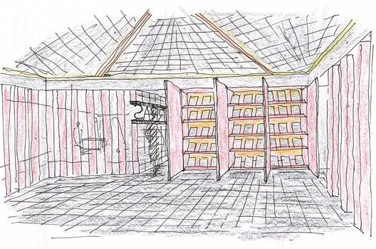 exposic_producto_mano_alzada_CUPA CUPA Pizarras Showroom / Iván Cotado Diseño de Interiores Architecture