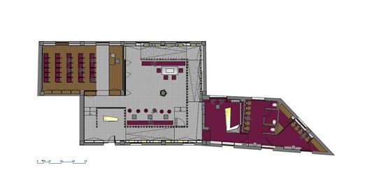 Planta_CUPA CUPA Pizarras Showroom / Iván Cotado Diseño de Interiores Architecture