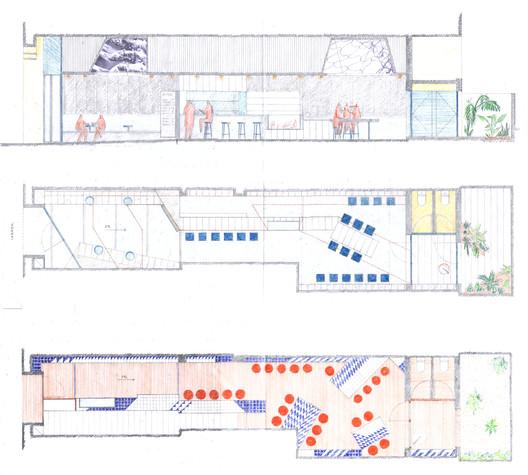 VILLA_2 Refurbishment of Bar El Villa - Vermuteria del Mar / AMOO | Aureli Mora + Omar Ornaque Architecture