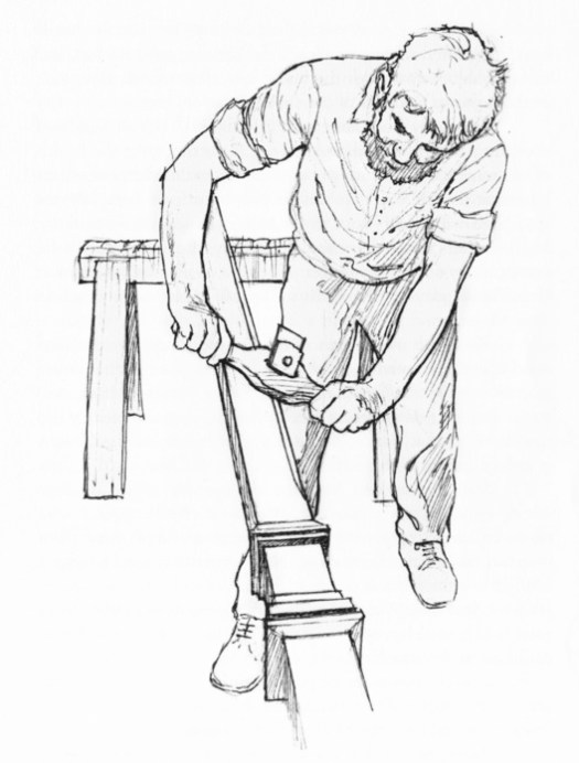 A Drawing from The Building of the Queensland House: A Carpenter's Handbook and Owner's Manual