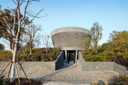 Exterior view of  the Planetarium Pavilion. Image © Hengzhong LYU