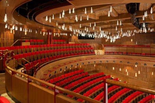 Royal Academy of Music - The Susie Sainsbury Theatre and the Angela Burgess Recital Room / Ian Ritchie Architects Limited. Image © Adam Scott
