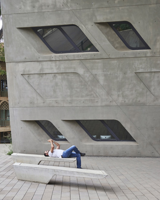 BahaaGhoussainy__(7) Zaha Hadid's Issam Fares Institute Stands Out in New Photography by Bahaa Ghoussainy Architecture