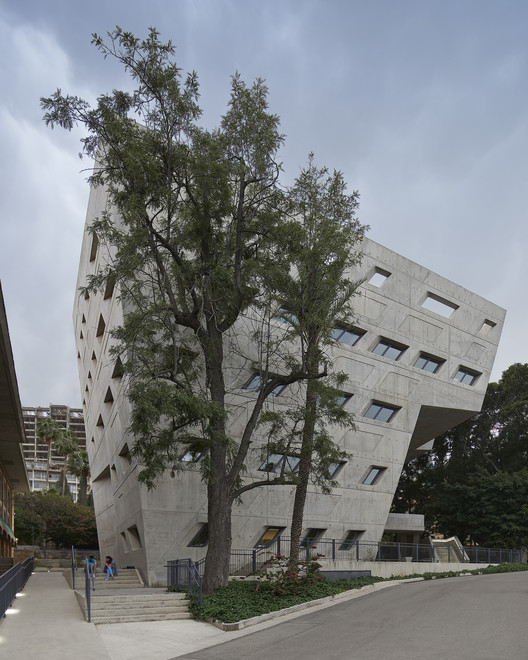 BahaaGhoussainy__(12) Zaha Hadid's Issam Fares Institute Stands Out in New Photography by Bahaa Ghoussainy Architecture