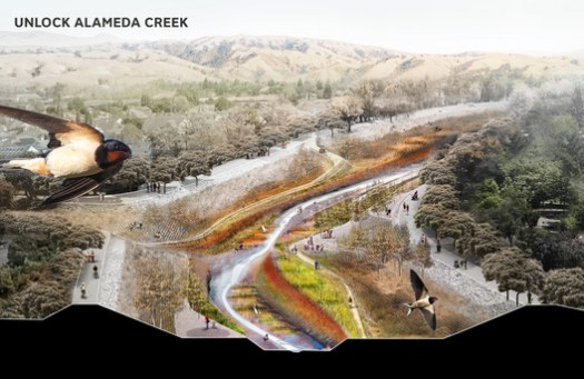 Unlock Alameda Creek - Public Sediment. Image Courtesy of Resilient by Design