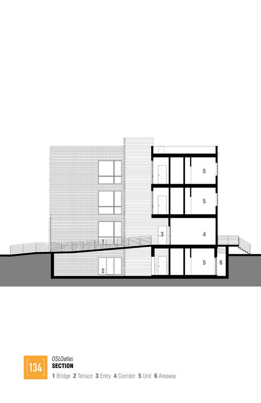 Section OSLOAtlas / Square 134 Architects Architecture