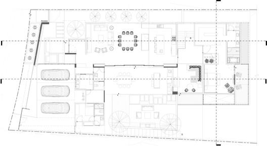 Planta_Alta PS House / Guillot Arquitectos Architecture