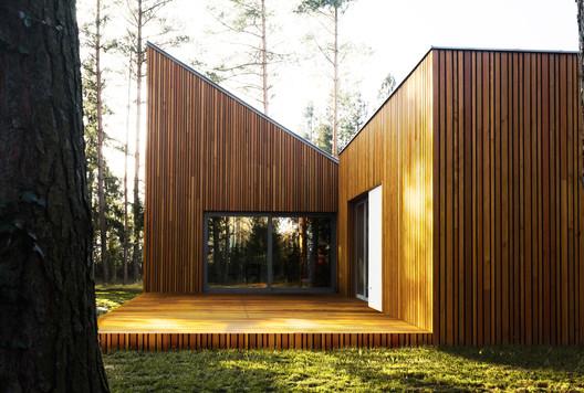 FOREST_HOUSE_KZ_PHOTO_(2) Forest House in Kuźnica Kiedrzyńska / grupaVERSO Architecture