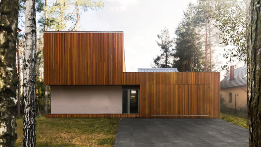 FOREST_HOUSE_KZ_PHOTO_(3) Forest House in Kuźnica Kiedrzyńska / grupaVERSO Architecture