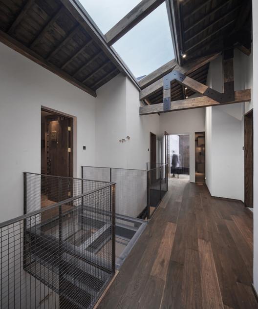 10_%E6%B0%91%E5%AE%BF%E4%B8%AD%E5%BA%AD(3) Yu Hotel / Shanghai Benzhe Architecture Design Architecture