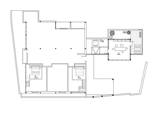 %E4%B8%89%E5%B1%82%E5%B9%B3%E9%9D%A2%E5%9B%BE%EF%BC%8Cthe_third_floor_plan Yu Hotel / Shanghai Benzhe Architecture Design Architecture