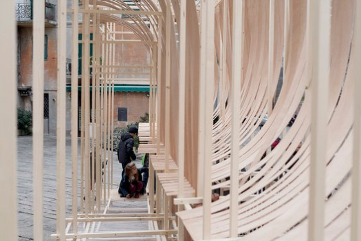 BENT Workshop, Department of Architectural Science, Genova University. Image © Anna Positano
