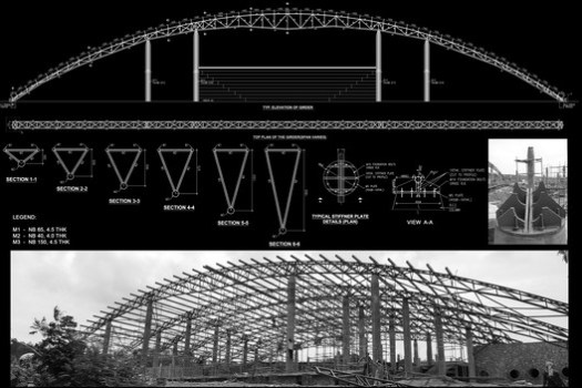 Truss Structure Diagram