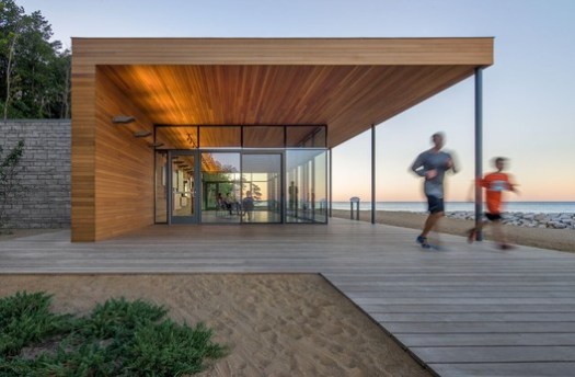 Rosewood Park Beach Improvements / Woodhouse Tinucci Architects. Image © Bill Timmerman