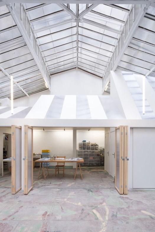 Light Folds / WY-TO Architects. Image © Svend Andersen