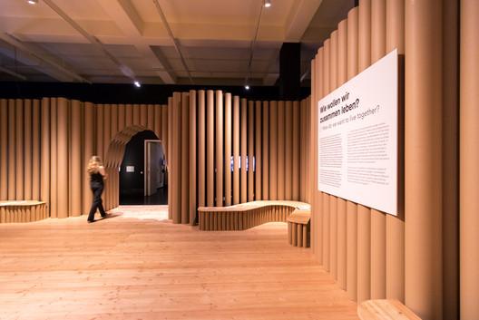 DHMD_Raum_4_3 Kéré Architecture Designs Sceneography for Exhibition on Racism Architecture