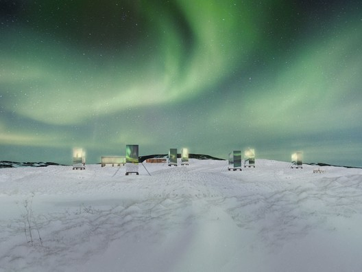 vis_1LQ Bee Breeders Announce Winners of the Iceland Northern Lights Rooms Competition Architecture