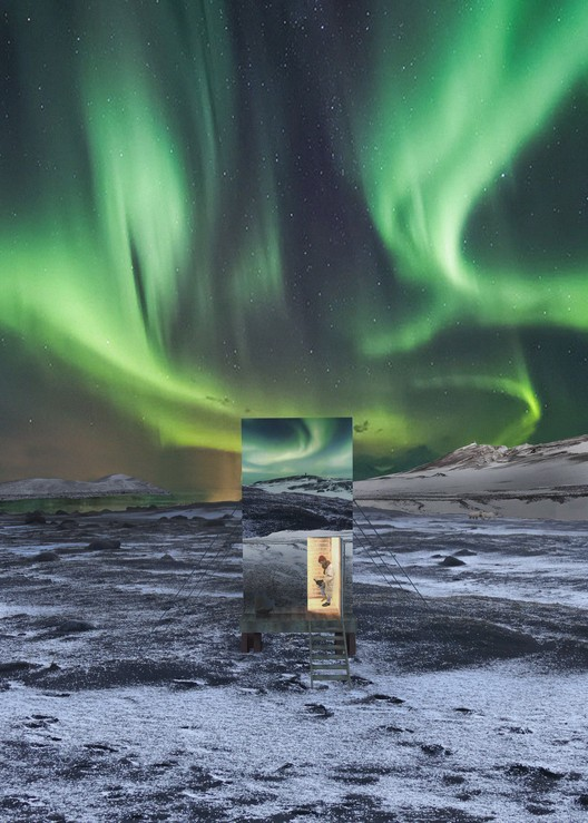 vis_4LQ Bee Breeders Announce Winners of the Iceland Northern Lights Rooms Competition Architecture
