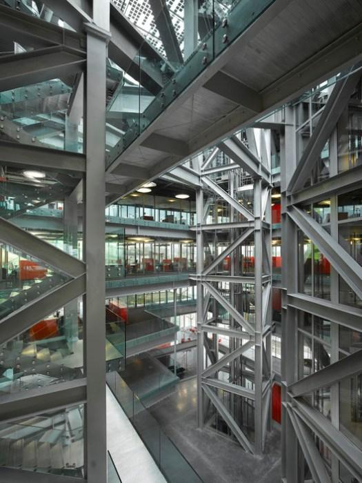 GL Events Headquarters. Image © Roland Halbe