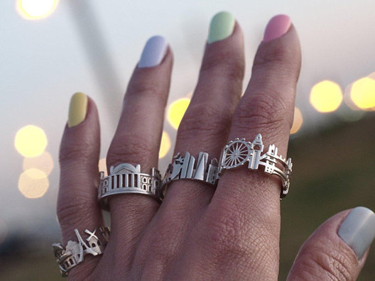 Skekht_City_Scape_Rings Wearable Architecture: 11 Architecture-Inspired Jewelry Lines Architecture