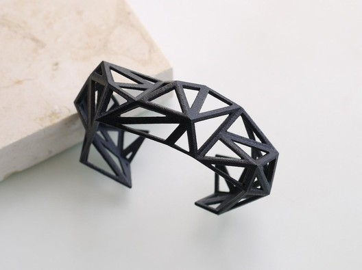Triangulated_Cuff_Bracelet_-_Archetype_z_studio Wearable Architecture: 11 Architecture-Inspired Jewelry Lines Architecture