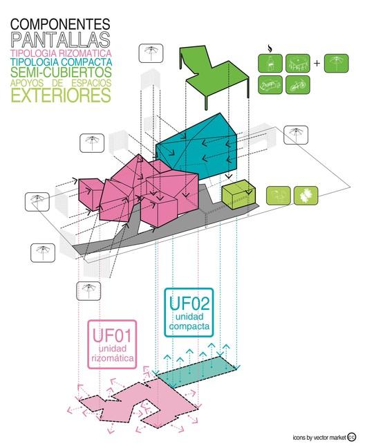 Componentes Incomplete House / estudio relativo Architecture