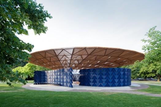 Serpentine Pavilion 2017. Image © Iwan Baan