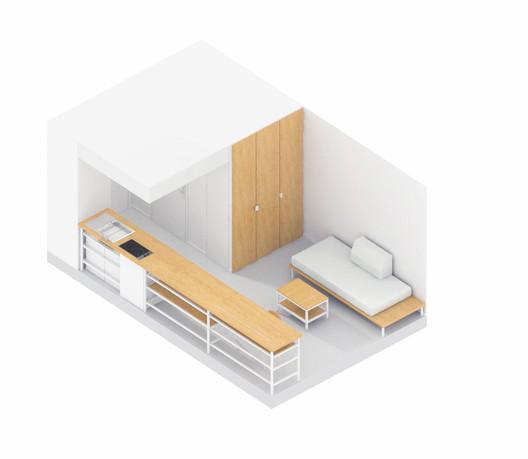 Room Axonometric