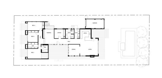 Fusion_House_Floor_Plan Fusion House / Dankor Architecture Architecture
