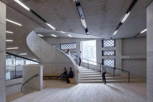 Tate Modern Switch House / Herzog & de Meuron © Iwan Baan