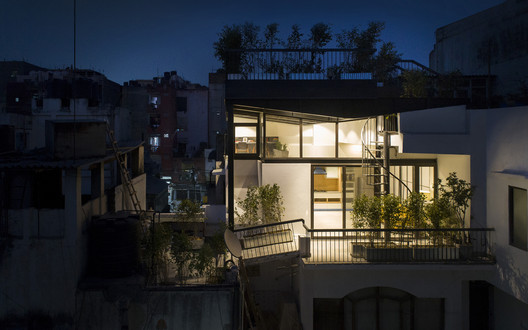 004 The Garden Roof Parasol / Harsh Vardhan Jain Architect Architecture